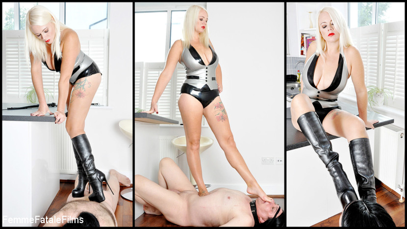 Mistress Heather – Trampling Filth_cover