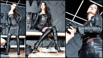 Victoria Valente – Leather Goddess