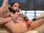 Anna De Ville – Petite Fuck Doll Gets Her Pussy Pounded and Ass Fucked by Machines