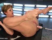 Dee Williams – Darling is Machine Fucked in Her Pussy and Ass with Squirting Orgasms!