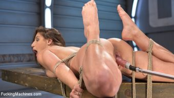 Abella Danger – Bondage Slut Gets Fucked Senseless in Rope Bondage