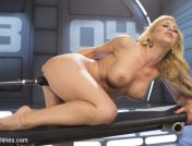 Cherie DeVille – Hard Bodied Blonde MILF has Earth Shattering Orgasm from the Machines