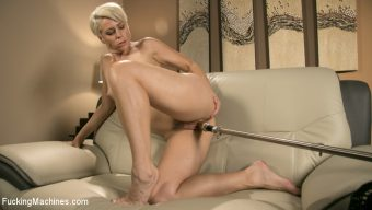 Helena Locke – Sexy Blonde Cougar Takes Our Machines for a Spin