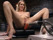 Cadence Lux – All Natural Blonde Babe Cadence Lux Squirts All Over Fucking Machines!