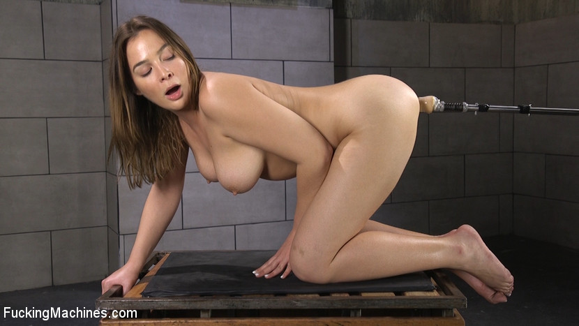 Blair Williams – All Natural Girl Next Door Gets Ass Fucked by the Machines_cover