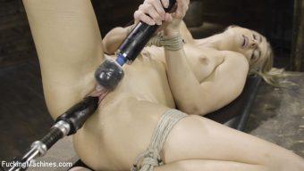 Nikki Peach – Fresh Meat – Nikki Peach in Bondage