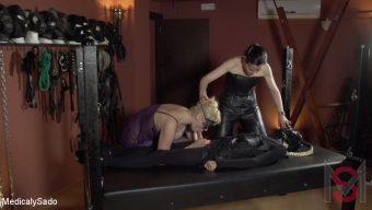 Patricia MedicalySado – Two Hot Submissives