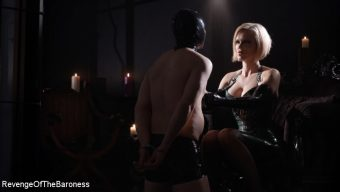 Baroness Davina Dust – Ep 2 – Lesson in Latex: the Transformation of a Rubberdoll