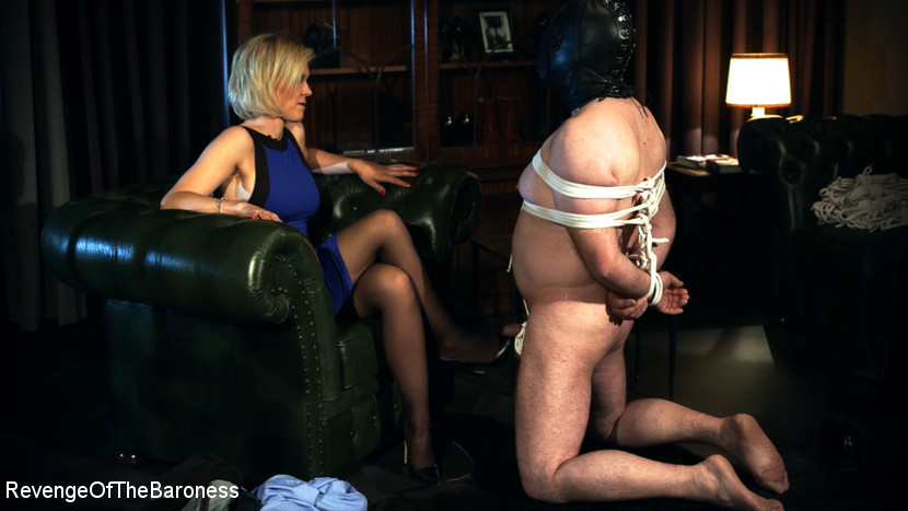Baroness Davina Dust – Ep 12 – Bondage Date: Tie up Games with the Baroness_cover