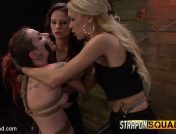 Sheena Rose – Sheena Rose Endures More Domination from Mila Blaze & Brooklyn Daniels