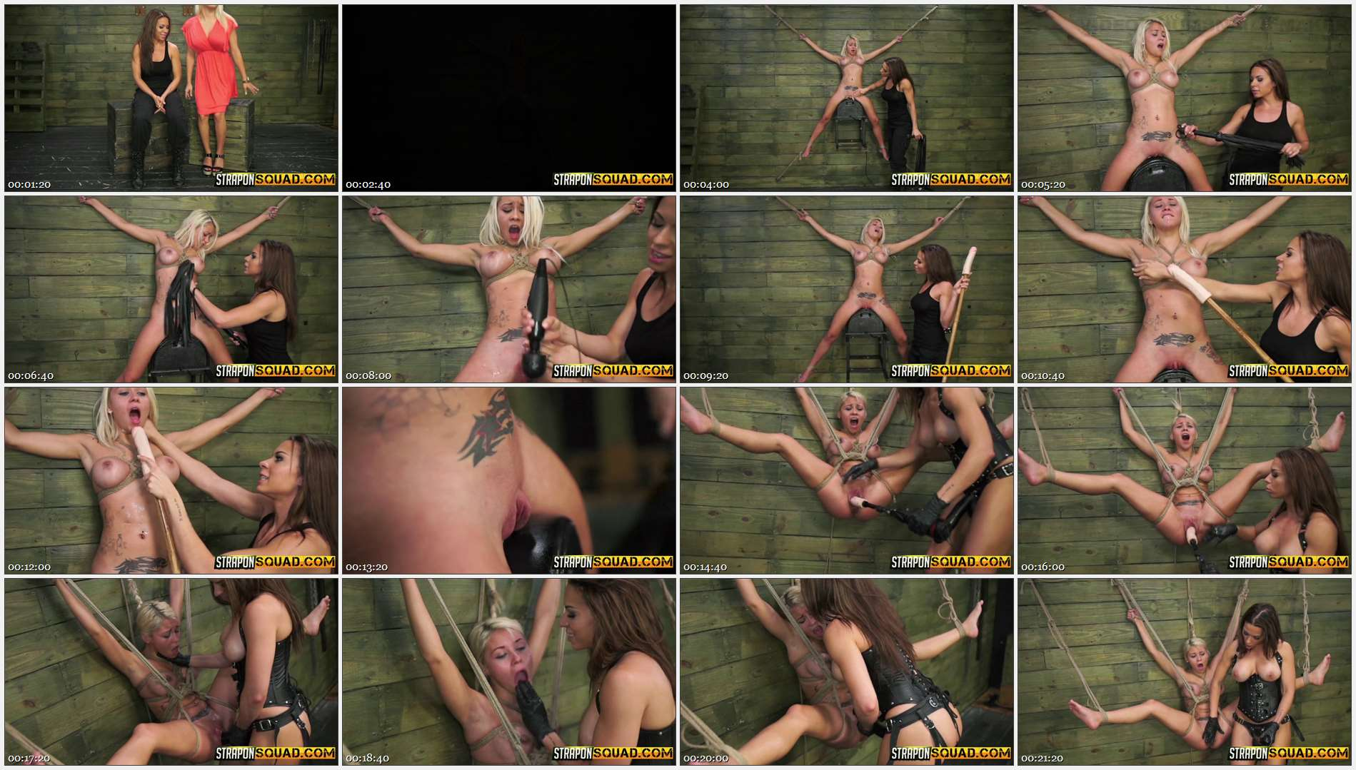 Marsha May – Marsha May Endures Lesbian Rope Bondage with Kylie Rogue