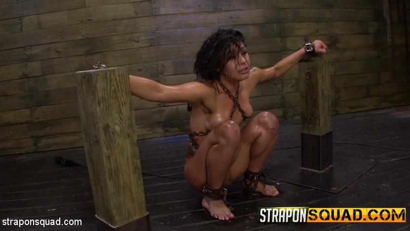 Isa Mendez – Slutty Slave Isa Mendez Dominated by Lexy Villa & Brooklyn Daniels_cover