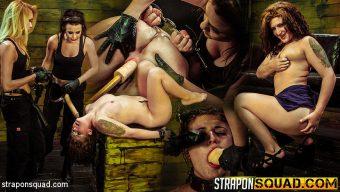 Aryah May – Sex Slave Aryah May is Used & Wrecked by Mila Blaze & Brooklyn Daniels