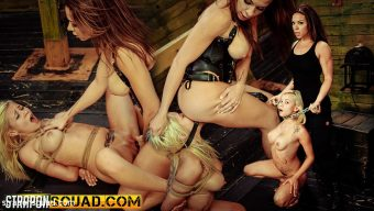 Marsha May – Marsha May Loves Rope Bondage & Lesbian Domination with Kylie Rogue