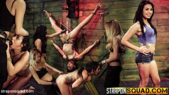 Isa Mendez – Rope Suspension BDSM Fun for Isa Mendez from Mila Blaze & Lexy Villa