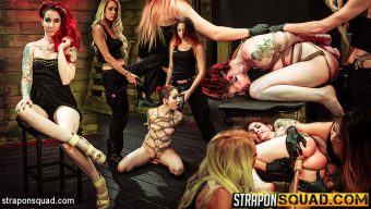 Sheena Rose – Rope Suspension BDSM for Sheena Rose with Mila Blaze & Alexa Rydell