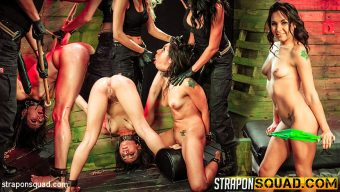 Isa Mendez – Isa Mendez Earns Another Lesbian Domination 3some