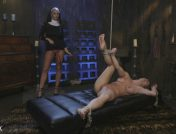 Ariel X – Religious Penance with Flogging, Zippers, and Anal