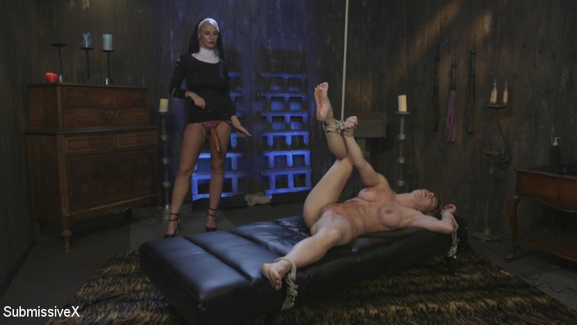 Ariel X – Religious Penance with Flogging, Zippers, and Anal_cover