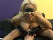 "Luna Star – ""I like you when you can't talk back to me"" Super Villainess Luna Star"
