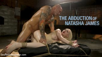 Derrick Pierce – The Abduction of Natasha James: Petite Russian Blonde Bound and Fucked