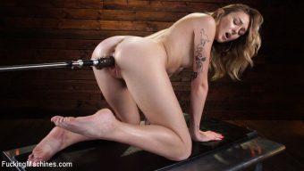 Charlotte Sins – Charlotte Sins: Newcomer Takes a Machine Pounding
