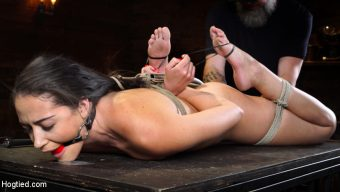 Avi Love – Avi Love: Young, Sexy Rope Slut Tormented and Made to Cum in Bondage