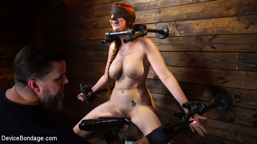 Lauren Phillips – Lauren Phillips: Helpless Redhead in Brutal Bondage Made to Cum_cover