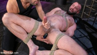 Donnie Argento – Donnie Argento Tied Up and Edged in Rope Bondage