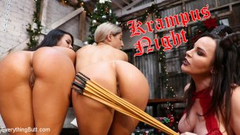 Dana DeArmond – Krampus Night: Abella Danger and Luna Star Get Their Asses Punished