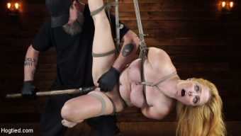 Penny Pax – Penny Pax: Blue-Eyed Redhead Damsel Tormented in Strict Bondage