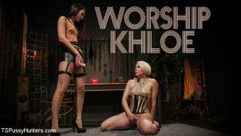 Khloe Kay – Worship Khloe: Submissive Helena Locke Devotes Herself to Mistress Kay