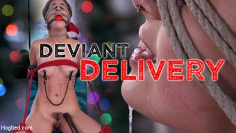 Kristen Scott – Deviant Delivery: Kristen Scott Gets Holiday Torment at Home