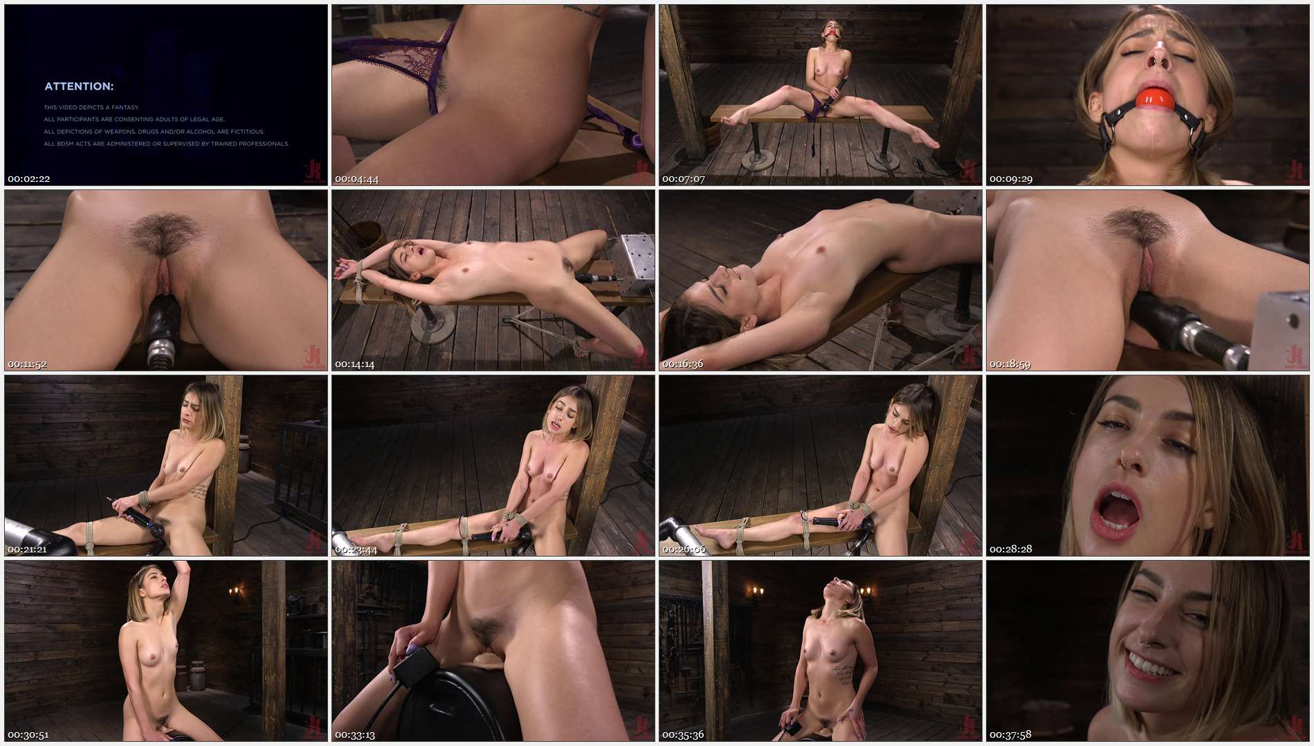 Kristen Scott – Kristen Scott: Bound and Machine Fucked Into Nonstop Orgasms