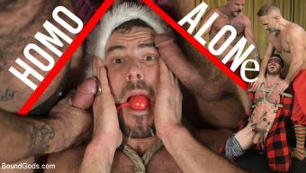Dirk Caber – Homo Alone, Part One: Vander Pulaski Taken Down in Home Invasion