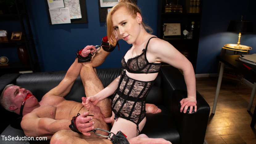 Shiri Allwood – Getting Ahead: Shiri Allwood Owns Her Boss, Dale Savage With Her Cock_cover