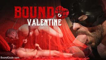 Ricky Larkin – Bound Valentine: Alex Mecum Covered in Wax, Suspended, Pumped, Fucked