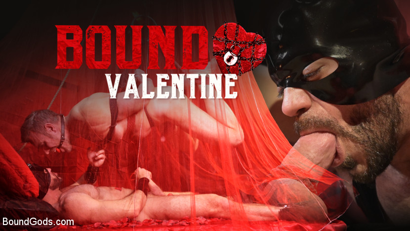 Ricky Larkin – Bound Valentine: Alex Mecum Covered in Wax, Suspended, Pumped, Fucked_cover