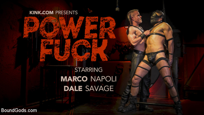 Marco Napoli – Power Fuck: Hot Leather Men Inflict Muscle Domination & Intense Pain_cover