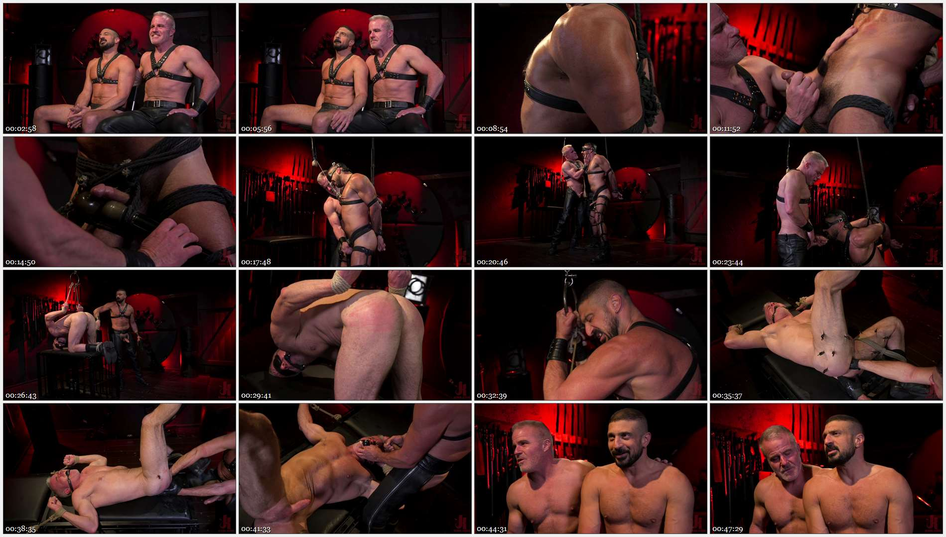 Marco Napoli – Power Fuck: Hot Leather Men Inflict Muscle Domination & Intense Pain