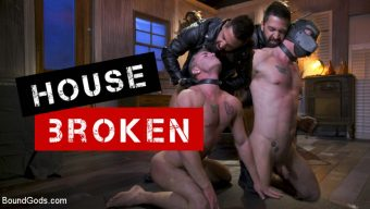 Mac Savage – Housebroken: Beefy Underwear Pervert Breaks Into The Wrong House