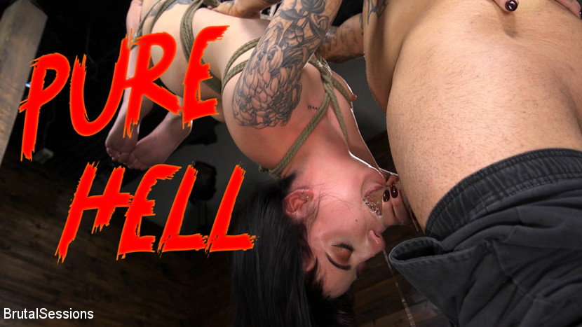 Derrick Pierce – Pure Hell: Charlotte Sartre Viciously Used and Anally Fucked_cover