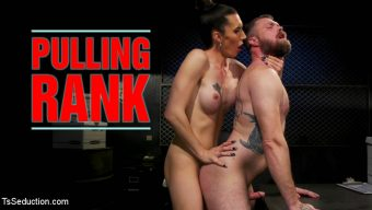 Mike Panic – Pulling Rank: Dirty Hot Cop Melanie Brooks Fucks Evidence Room Boy
