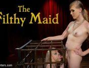 Roxxie Moth – The Filthy Maid: Roxxie Moth Disciplines Incompetent Arielle Aquinas
