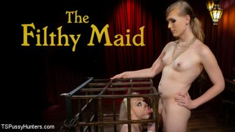 Roxxie Moth – The Filthy Maid: Roxxie Moth Disciplines Incompetent Arielle Aquinas