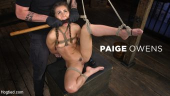 Paige Owens – Paige Owens: Hot, Young, and Willing to Suffer in Bondage