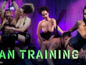 Gia DiMarco – Man Training: Gia Dimarco and Mistress Blunt Dominate Clueless Man