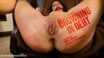 Mia Gold – Drowning in Debt: Hot Wife Gets Sexual Punishment for Husband's Debt