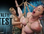 Bella Rossi – Loyalty Test: Lesbian Switching in Bound Orgasms