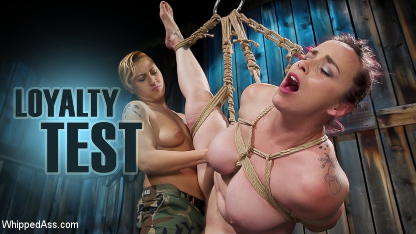 Bella Rossi – Loyalty Test: Lesbian Switching in Bound Orgasms_cover